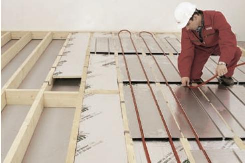 System Installation - Hydronic Floor Heating