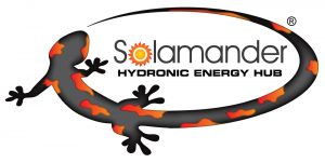 solar hydronic heating solamander